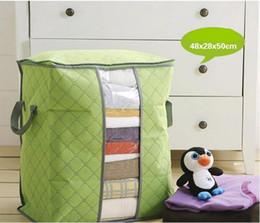 Venta al por mayor de almacenamiento en casa bolsa plegable impermeable Oxford tela ropa de cama ropa almohadas edredón organizador bolsa bolsa Zip desde fabricantes