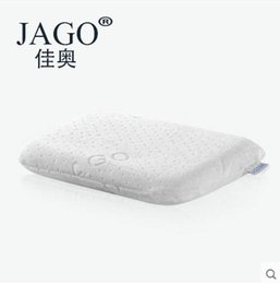 Wholesale Latex Bedding - JAGO Safe health Anti-bacteria 100% natural latex Baby(3-12months) Sleep pillow for Children bunk bed