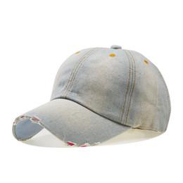 a47a14b7a4a Baseball Caps Men 2018 High Quality Unisex Solid Color Denim Caps Women  Leisure Blank Hats Bone Masculino