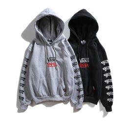 Justin bieber roupas branco on-line-Frete grátis 2018 novo estilo yeezus alfabeto impressão hoodies justin bieber luxo branco hip hop homens e mulheres amantes do esporte ao ar livre roupas
