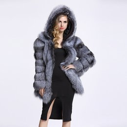 529c927ef5b ZADORIN 2018 Streetwear Faux Fur Coat Winter Jacket Fashion Women Thick  Warm Faux Fur Coats With Hooded Plus Size Outerwear