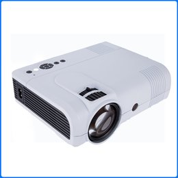 Wholesale Hdmi Equipment - 1080P LED Portable Mini Projector HD Projector for High Quality Stereo Radiation-Free Home Theater Compatible with Variety of Equipment