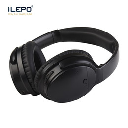 Wholesale Noise Canceling Bluetooth Headsets - noise canceling wireless brand bluetooth in ear headphones gaming wireless earbuds with microphone studio headphones for smart phone