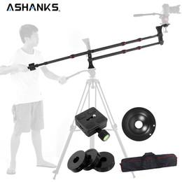bolsas de trípode de cámara Rebajas Ashanks FIBRA de fibra de carbono MINI pluma de brazo Brazo de horca portátil para fotografía Trípode / DSLR Cámara de video Versión estándar + Carga de bolsa 10KG