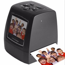 """Canada Haute résolution 5,0 méga pixels Scanner de photos Scanner de diapositives 35 / 135mm Convertisseur de films numériques 2.36 """"LCD EU plug Offre"""
