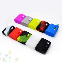 Wholesale ecig packaging - Pico Baby Leather Line Silicone Case Protect Sleeve Silicone Skin Cover Colorful Rubber Cover Single Package Ecig DHL Free