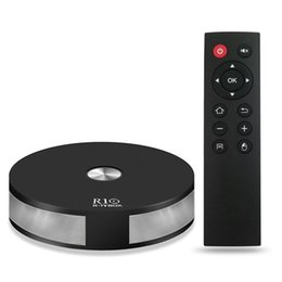 R box tv en Ligne-RK3328 Android 7.1 R TV BOX R10 2GB 16GB 2.4G 5G WIFI Bluetooth 4.1 HDMI 4K 3D USB3.0 H.265 Smart Media Player