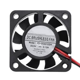 fan low noise Coupons - hot sale Waterproof YD-054010SH 5V 40x40x10mm Low Noise Brushless DC Cooling Fan for PC Case CPU Cooler Water Cooling Fans