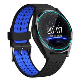 часы фотокамеры Скидка Health Sports Hours Chigu V9 Smart Watch With Camera Smartwatch Pedometer Clock Men Women Smartwatch For Android IOS