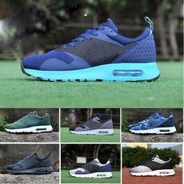 4241da9e2ea35 2017 Nike Air Max Tavas 87 Running shoes thea 87 90 Tavas Camouflage männer  freizeitschuhe 100% original alle schwarz thea Sportschuh 2017 hot athletic  ...