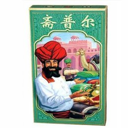 Wholesale Indian Trade - Indian businessman Cards Game 2 Players Board Game Strategy In Funny Transactions Metting Game Chinese Version Free English Instructions