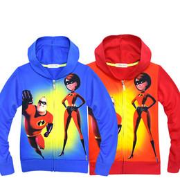 2019 рубашки супер герои 6 стиль супер герой мальчиков печати пальто 2018 осень дети толстовки кардиган молния рубашка куртка дети верхняя одежда Детская одежда H087 дешево рубашки супер герои