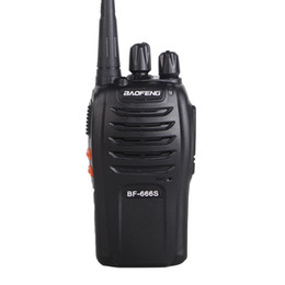 radio comunicador Coupons - Pofung originale baofeng Walkie Talkie BF-UHF 400-470 MHz 5 W radio comunicador portable Two way Radio 666 S