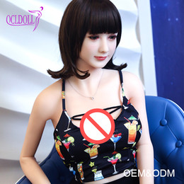 Wholesale Japanese Sex Semi Doll - Joymei 165CM Silicone Sex Dolls Inflatables Semi Solid For Men Masturbate Full size Sex Dolls For Sell