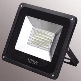 luci di parete esterne di alta qualità Sconti Luci a LED Proiettori a LED 100W SMD5730 illuminazione per esterni alta luminosità buona qualità con prezzo competitivo Luci di inondazione a LED Parete quadrata