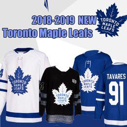 0924294ad7b Toronto Maple Leafs 91 John Tavares men s Hockey Jerseys 16 Mitch Marner 34  Auston Matthews 43 Nazem Kadri 31 Frederik Andersen