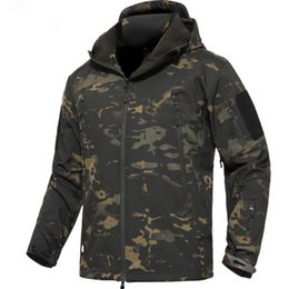 Wholesale Military Hiking Gear - Military Tactical Army Jacket TAD GEAR Soft SHELL Jacket Outdoor Hiking Coat Waterproof Windproof Jackets 17 color