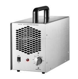 Wholesale ozone generators - Portable 7000mg~14000mg ozone generator Home air purifier sterilizing machine(Stainless steel) HE-154SS