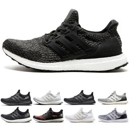 sports shoes ddf9a 157b0 Adidas ultra boost 3.0 4.0 NMD R1 Zapatillas de running Classic OG tri-gris  negro Triple White Red Runner R1 PK Primeknit For Men Women Zapatillas de  ...