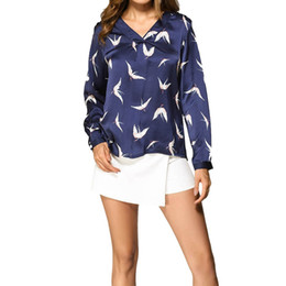 cb2c3c30e12 Large Size Women T-Shirts Tops S-XL V-Neck Long Sleeve Oversized Pullover  Floral Printed Loose Tees Tshirt Plus Size