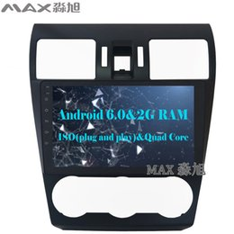 Wholesale Gps For Subaru - 2G RAM 16G ROM Android 6.0 Car DVD Player for Subaru WRX Forester 2014 2015 2016 with BT SWC GPS free map