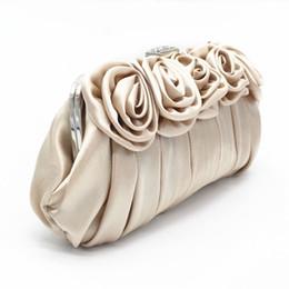 Mode Fleurs Soie Wommen Sac de Soirée Élégant Lady Mariée Paquet De Mariage Demoiselle D'honneur Sacs à Bandoulière Banquet Sac Main Embrayage LZ ? partir de fabricateur