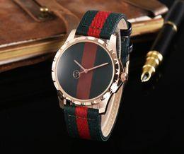 Wholesale Top Ladies Dresses - New AAA fashion business simple Men ladies watch leather strap top luxury brand women's dress quartz clock ladies watch Montres Femm.Gift