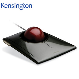 Wholesale Pc Ball Mouse - Kensington Original SlimBlade Media Control Trackball Optical USB Mouse for PC or Laptop with Large Ball K72327