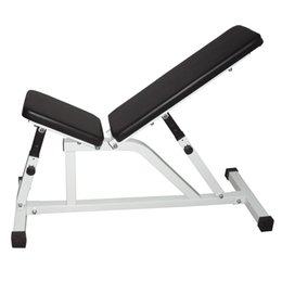 Wholesale Folding Benches - Household Indoor Fitness Adjustable Foldable Weight Bench Folding Dumbbell Fitness Stool