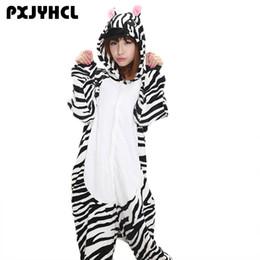 Anime Kigurumi Zebra Onesie Adulte Femmes Vêtements De Nuit Costume Animal Chauve Pyjamas En Flanelle Chaud Lâche Doux Chemise De Nuit Cosplay Pyjama ? partir de fabricateur
