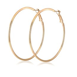 Wholesale Big Hoop Earrings Basketball Wives - whole saleSuper Big Circle Hoop Earrings for Women Big Round Earrings Basketball Wives Trendy Fashion Large Jewelry Bijoux Trendy