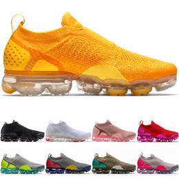 rosa scarpe aria libera Sconti Nike Air Vapormax MOC 2.0 Moc 2.0 Running Shoes Uomo Donna Triple Nero Bianco University Red Spirit Wheat Pink Trainer Sport Sneaker Taglia 36-45 Spedizione gratuita