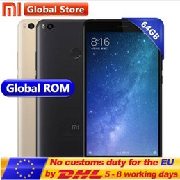 "Wholesale Xiaomi Android Qwerty - 100% New Original Xiaomi Mi Max 2 4GB RAM 64GB 6.44"" Display Snapdragon 625 Octa Core Mobile Phone Max2 12.0MP 4K Camera IMX386 5300mAh"
