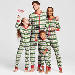 Deutschland 2018 Familie passenden Weihnachten Pyjama Set Männer Frauen Vater Mutter Kinder Nachtwäsche Print Nachtwäsche Familie passende Kleidung Versorgung