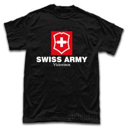 nuevas navajas suizas Rebajas Swiss Army Knife Tools Logo Nueva camiseta Algodón Hombre Camisetas Clásico Top Tee Modelos básicos camiseta tops cuello redondo camisetas