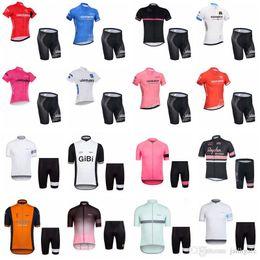 0cf338102 TOUR DE ITALY team Cycling Short Sleeves jersey shorts sets new style men  Bike Clothing Mountain bike Sportwear D1316