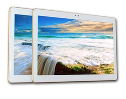 Wholesale 32 gb tablets - Front free android 6.0 tablet of 10 polegada desbloqueio 3G 4G SIM Card phone call EC Octa core Android WIFI FM 32 GB 1280 * 800 Tablet PC