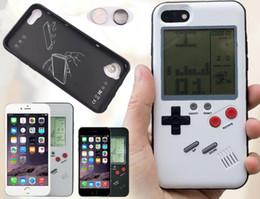 я телефон новый Скидка Новый игровой автомат разработан мобильный телефон случае игровой консоли случаях играть крышка противоударная защита мини-чехол для i X 8 7 6 плюс бесплатный DHL
