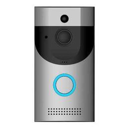 WIFI Video kapı zili kamera interkom sistemi kablosuz ev ip kapı bell telefon ahenge w / PIR Tam Dubleks iOS Android pil powered nereden