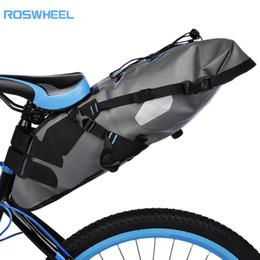 2019 portador trasero ROSWHEEL Aack 7L MTB Ciclismo impermeable Bicicleta Bolsa Bicicleta Alforja Bolsa Saddle Rear Seat Pack Carrier portador trasero baratos