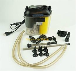 aquarium externe Promotion EF-05 150L / H 5.5W Réservoir externe pour aquarium Filtre pour réservoirs de poissons marins d'eau douce Supports de filtres externes