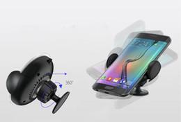 Cargadores de teléfonos celulares para vehículos online-El cargador inalámbrico munted vehículo de alta calidad del estilo del tenedor para el teléfono de Moible adapta la fábrica del adaptador