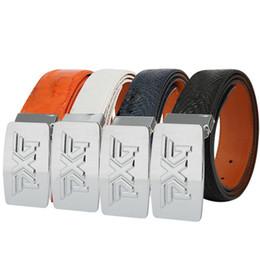 Wholesale Marker Balls - Outdoor sport golf belt length 100 105 110 115 120cm PU leather belts free shipping