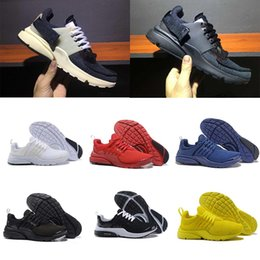 Wholesale Red Lawn - 2018 Running Shoes Presto BR QS Womens Mens Triple white black Breathe Greedy Oreo Yellow Red blue Sneakers sport 36-46