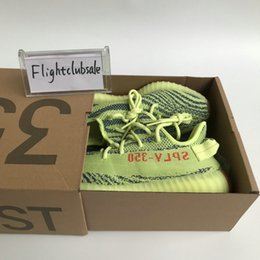 Wholesale Freeze Blue - With Box Kanye West Boost SPLY V2 350 Semi Frozen Yellow Beluga 2.0 Zebra Cream White Copper Size 13 V2 350 Running Shoes Mens Womens Sale