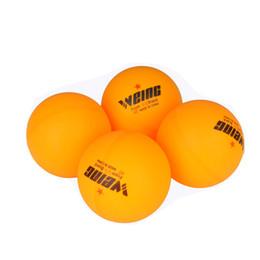 Venta caliente ABS plástico naranja y blanco logotipo personalizado tenis de mesa bolas de pingpong desde fabricantes