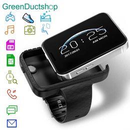 Видео с использованием смарт-карт онлайн-i5S Smart Mobile Watch 2.2-inch MTK2502C Pedometer SIM card Video Record Music 32g TF Extend GSM MP3 MP4 Camera Smartwatch