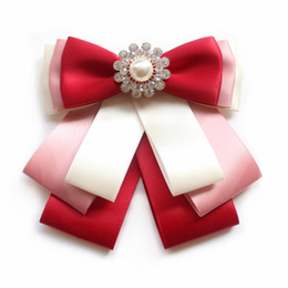 Aeromoça profissional camisa gola flor na moda acessórios de vestuário vestido uniforme multi-layer bow acessórios menina bow tie de