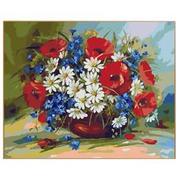 Promotion Nouvelle Peinture Murale De Fleurs | Vente Nouvelle ...