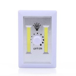 Lampade a LED per illuminazione domestica di emergenza a LED per corridoio domestico con interruttore di regolazione rotante 10pcs supplier rotating switch da interruttore rotante fornitori